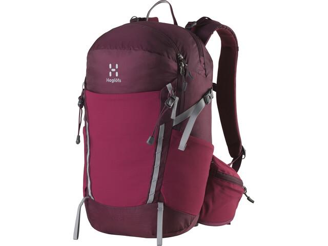 Haglöfs Spiri 23 Backpack aubergine/flint